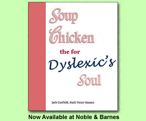 Soup Chicken the for Dyslexic's Soul ad