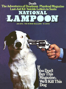 National Lampoon dog cover