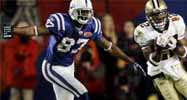 Reggie Wayne and Tracy Porter